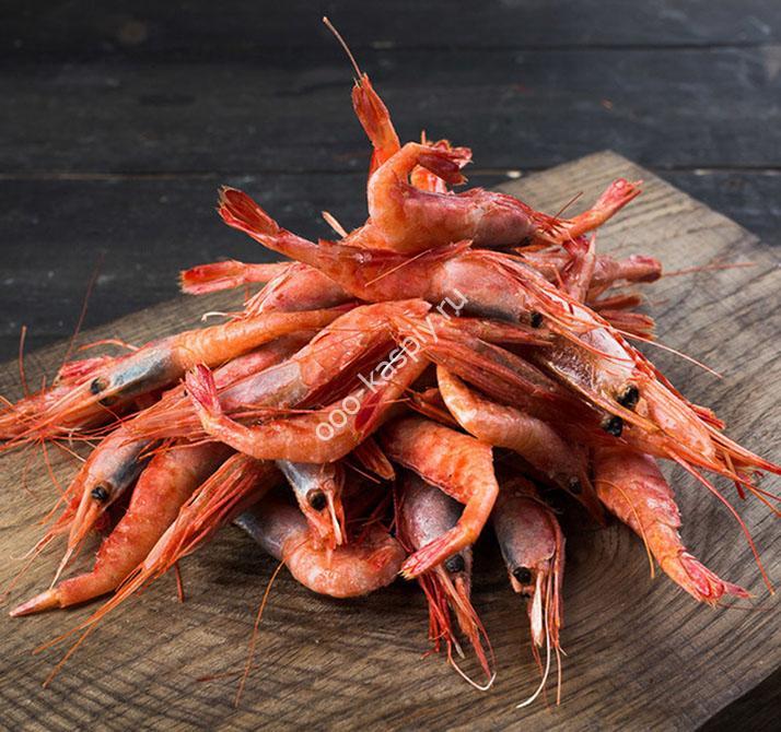 Креветки и морские деликатесы